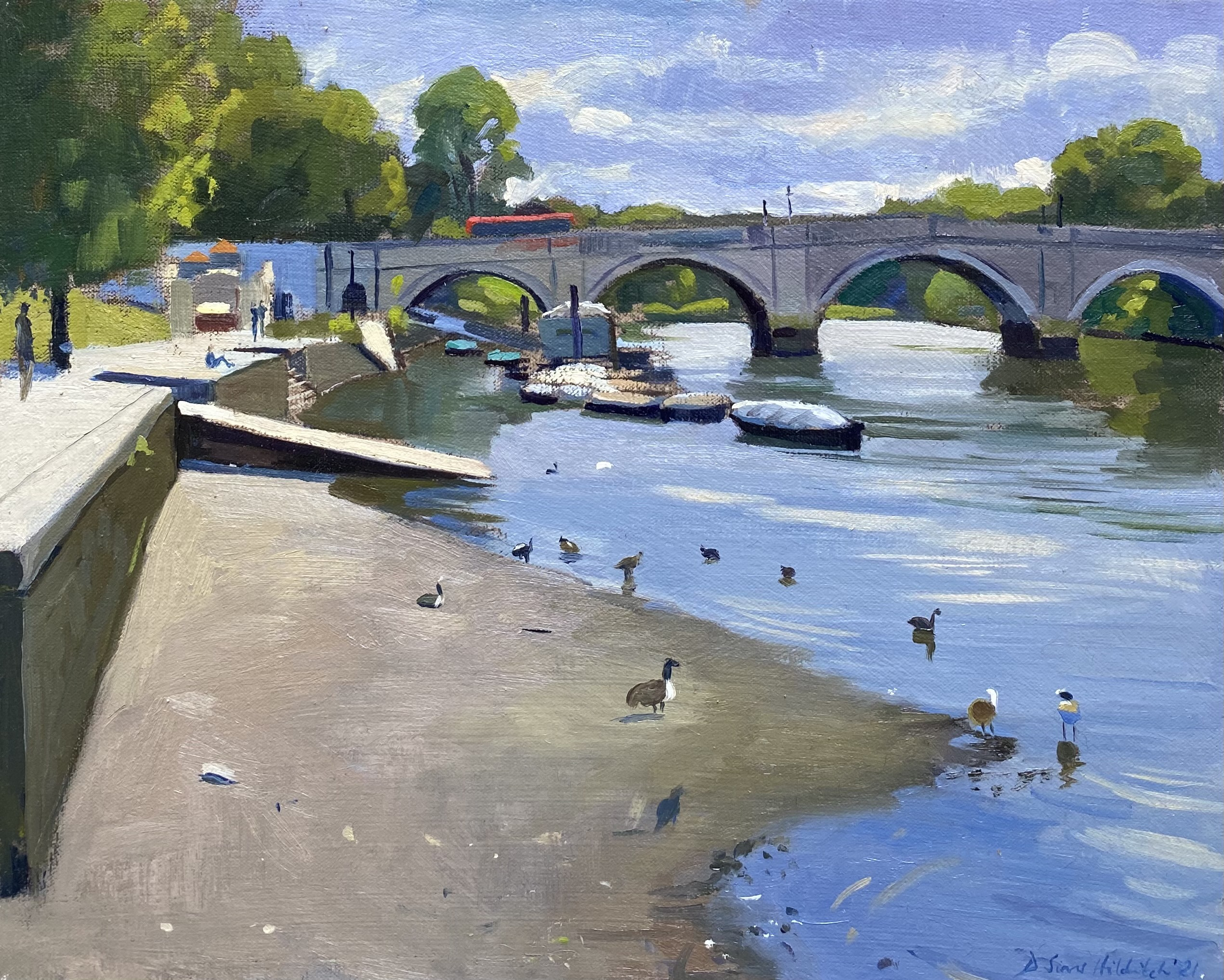 British Plein Air Painters Exhibition at the Mall Galleries