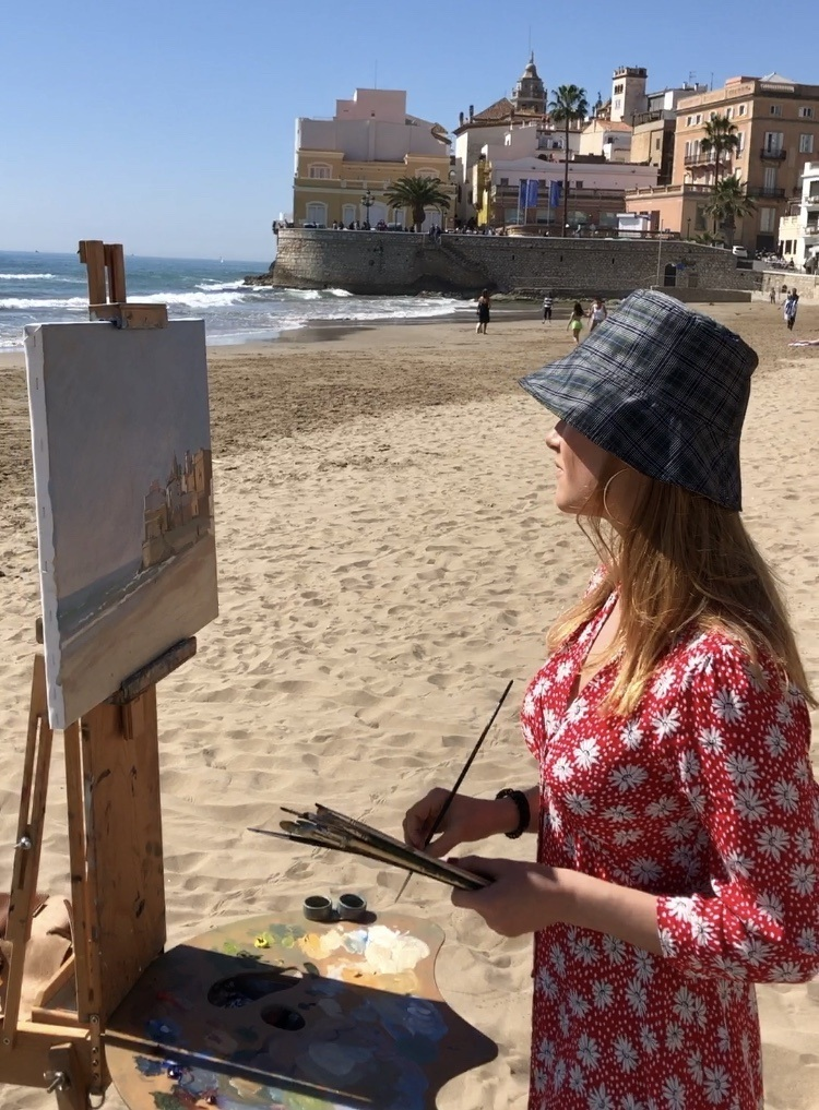 Video Blog | Painting in Sitges