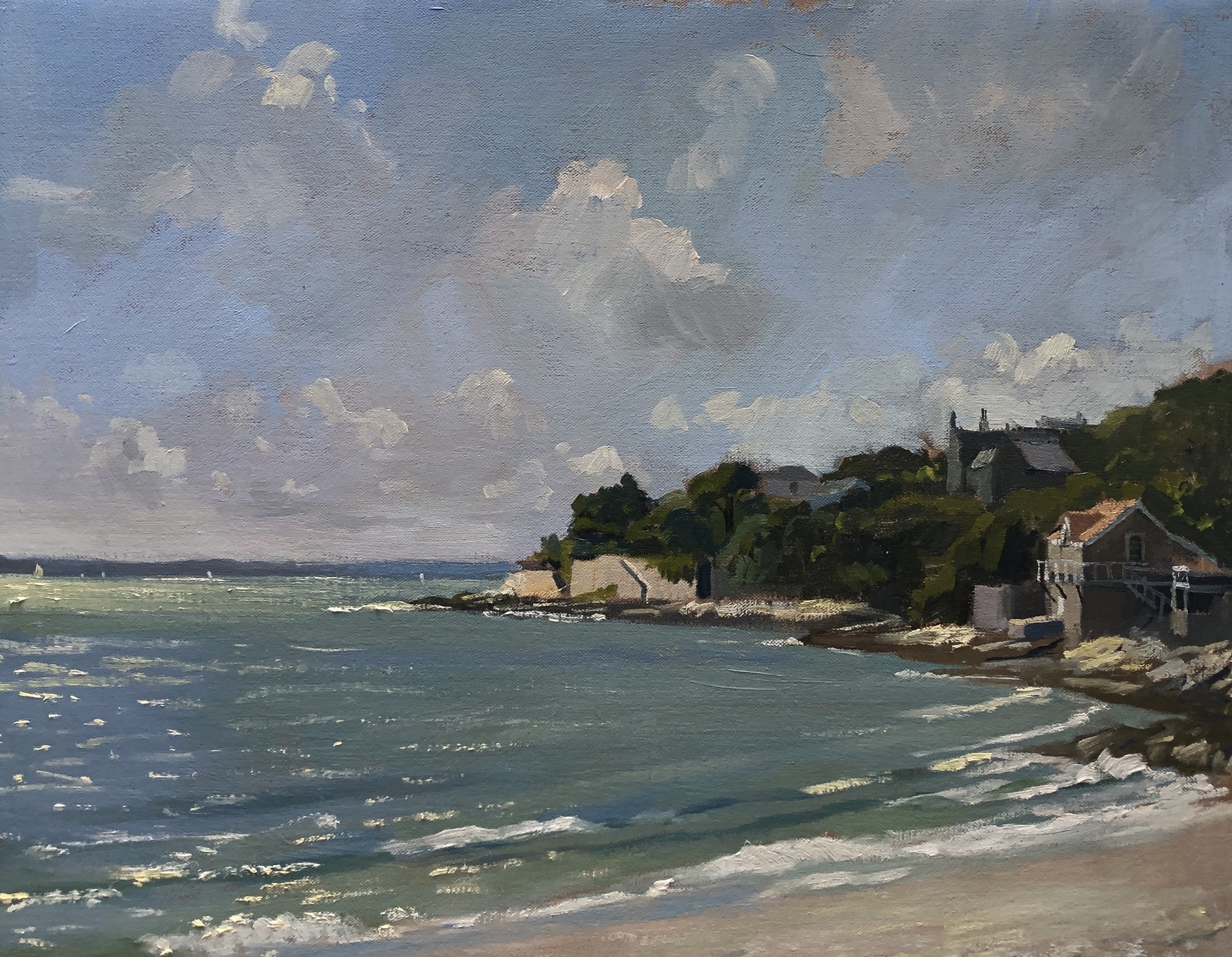 Tavern Beach, summer light
