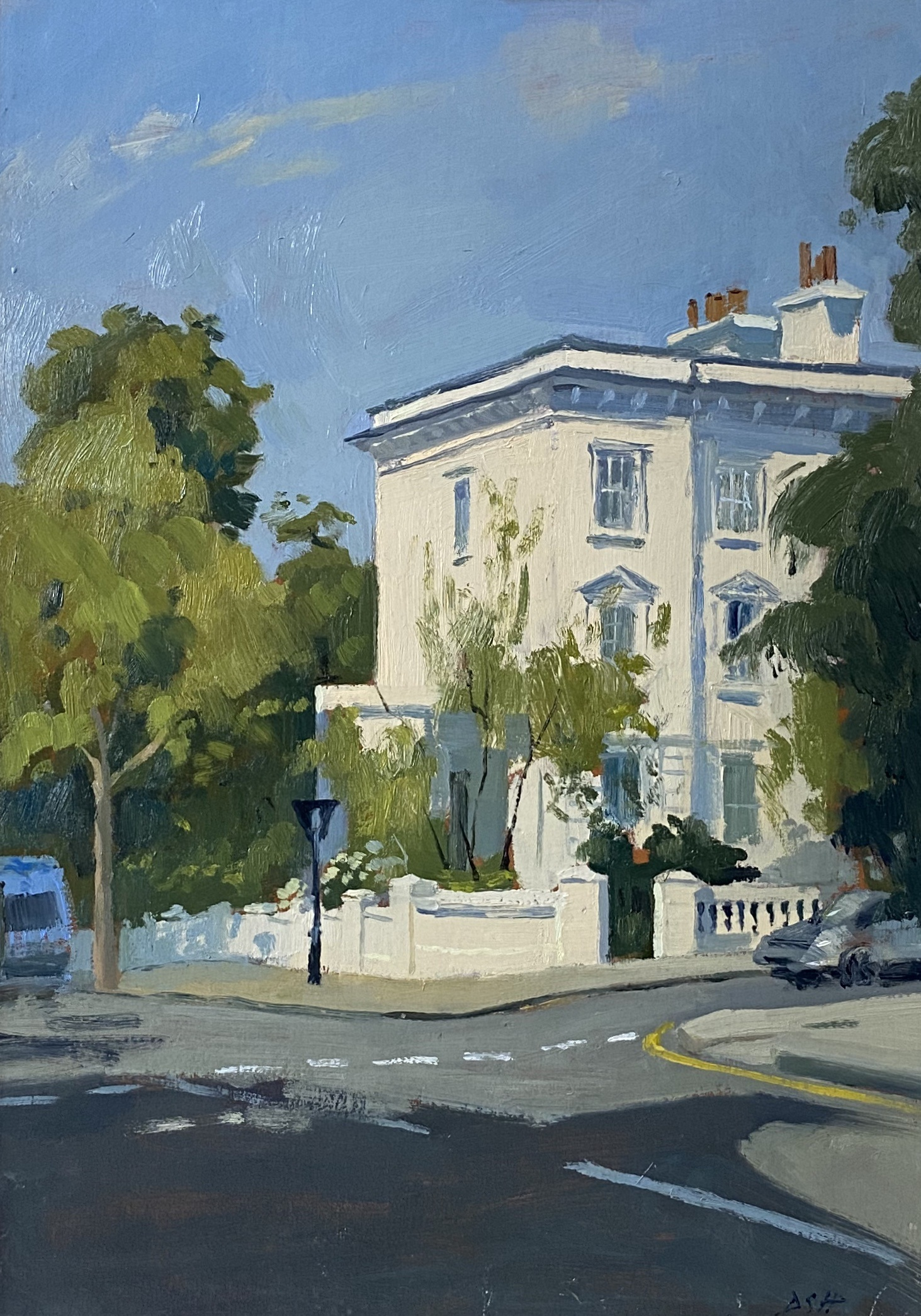 Morning Light, Lansdowne Road Nottinghill