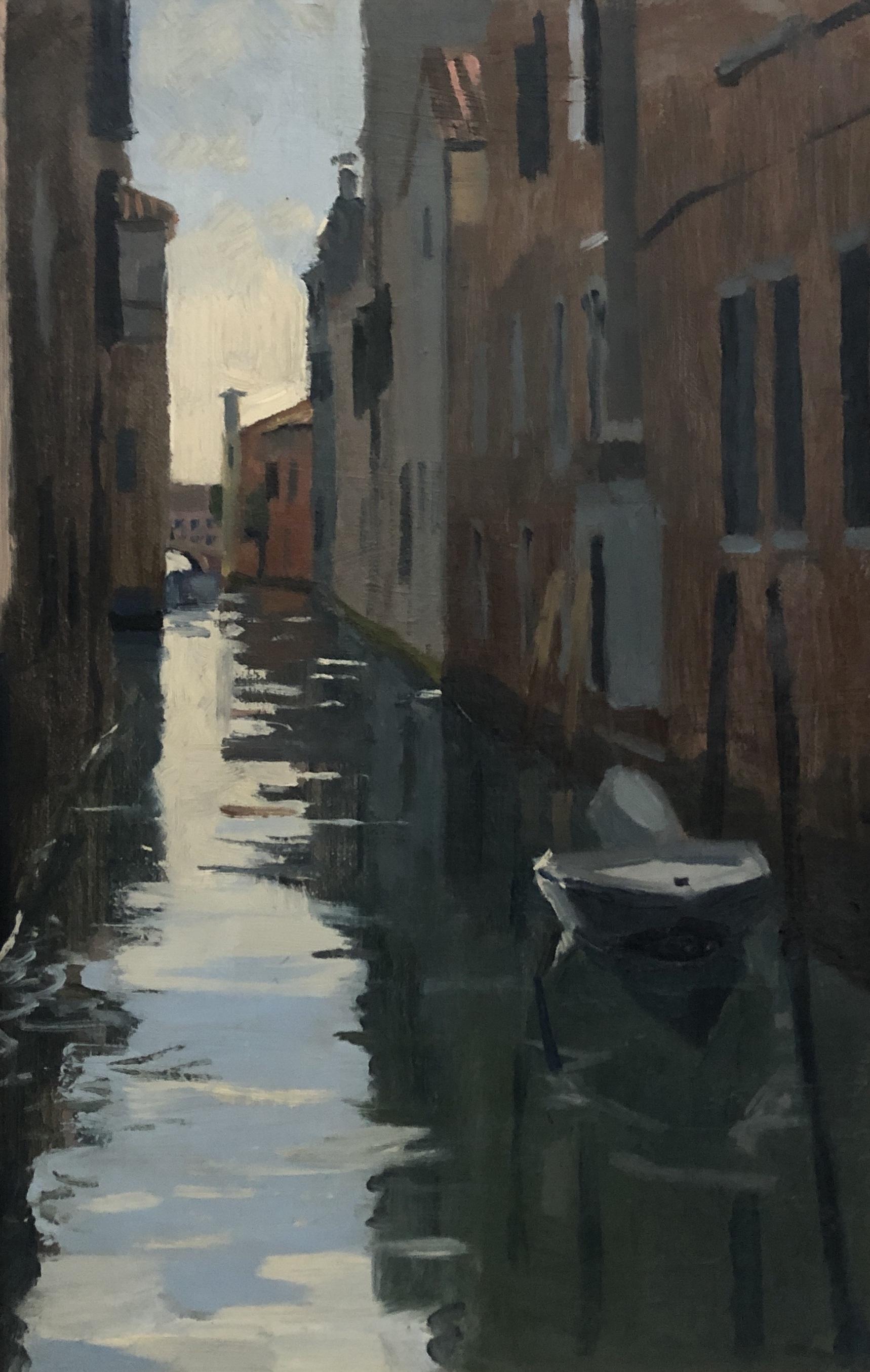 Venetian reflections, Dorsoduro