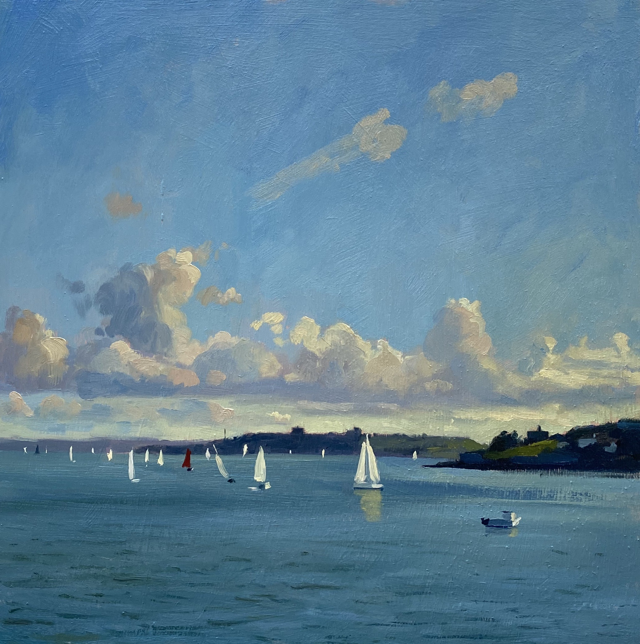 Evening Regatta, St Mawes