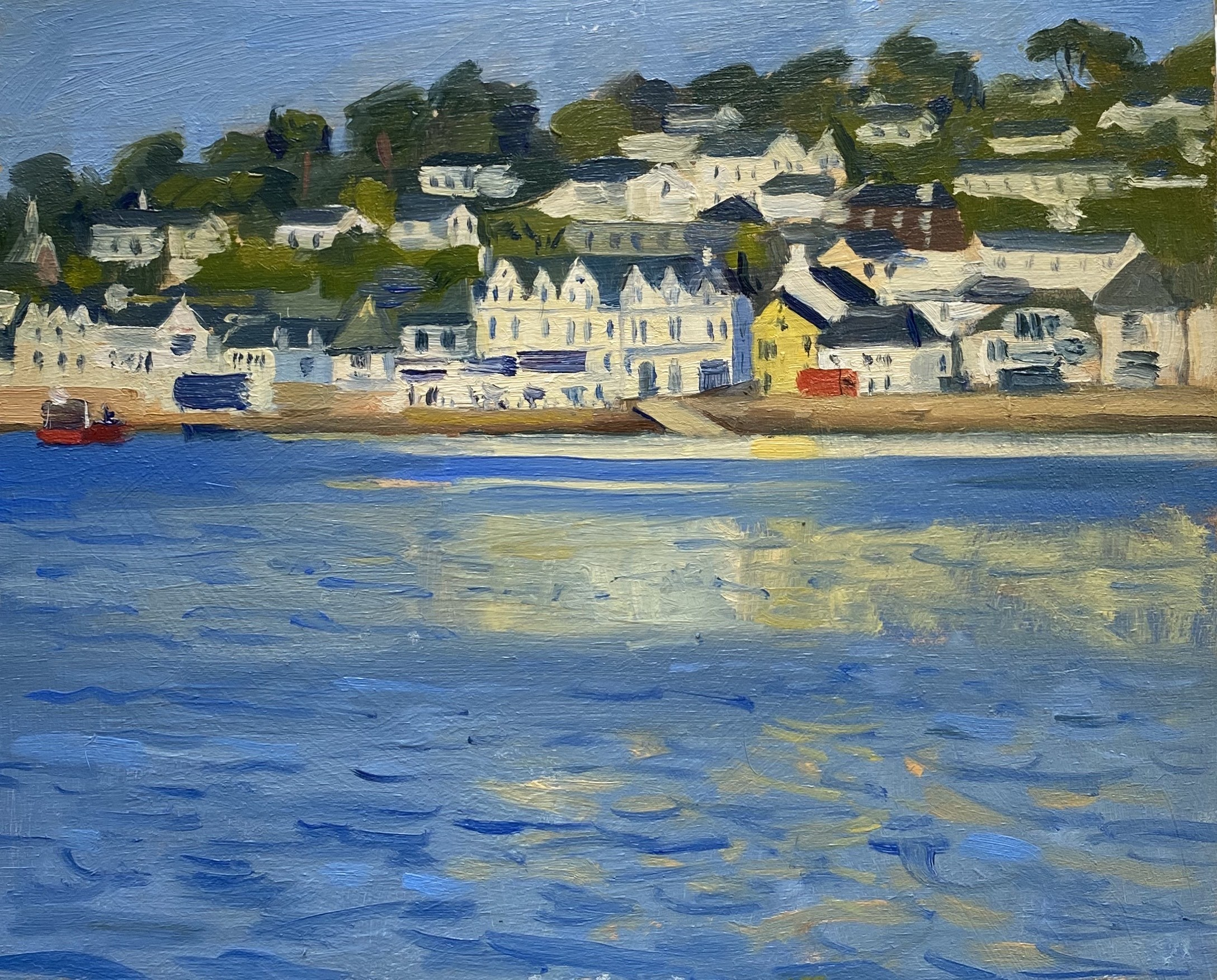 Early morning impression, St Mawes