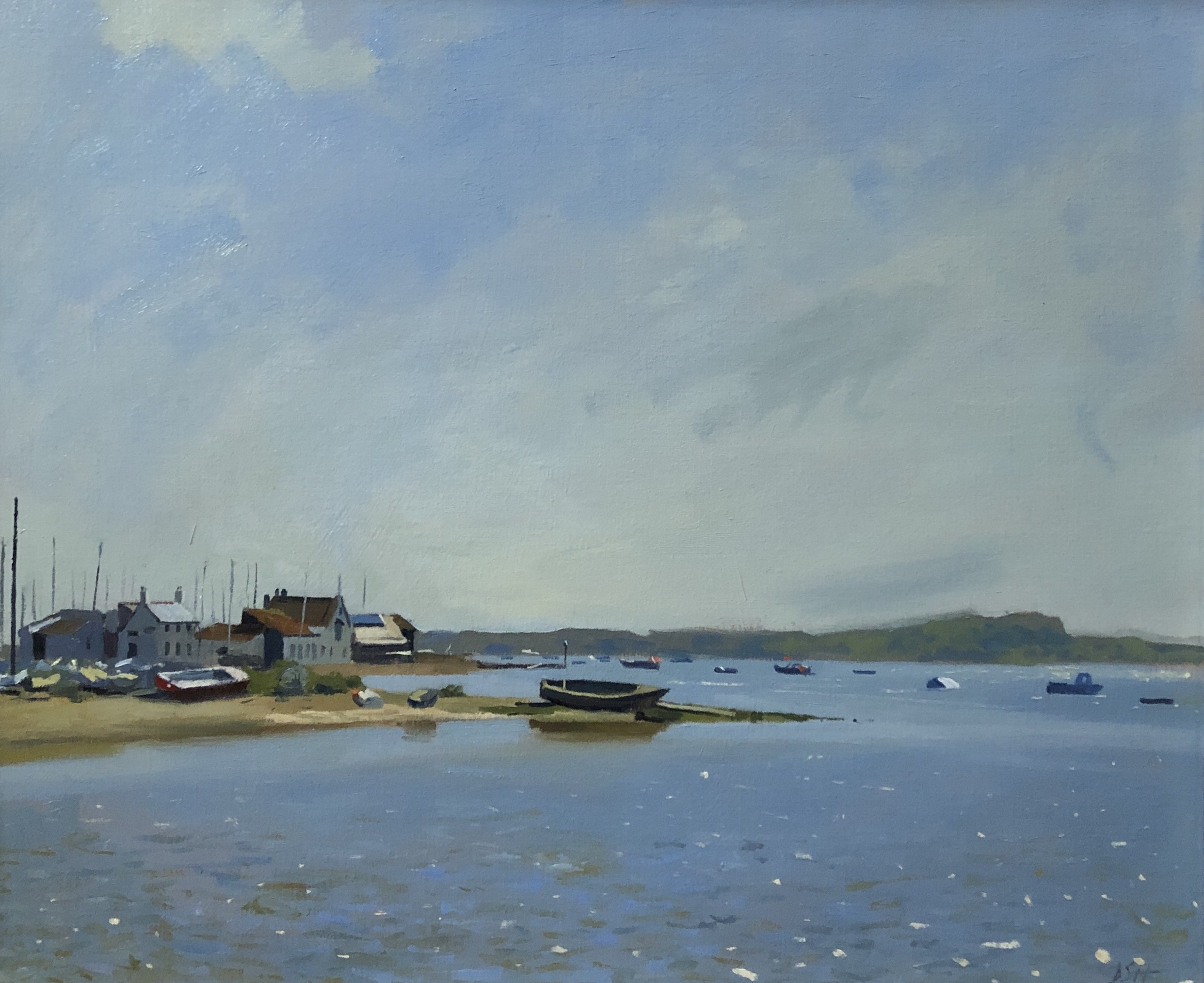 Afternoon light, Mudeford