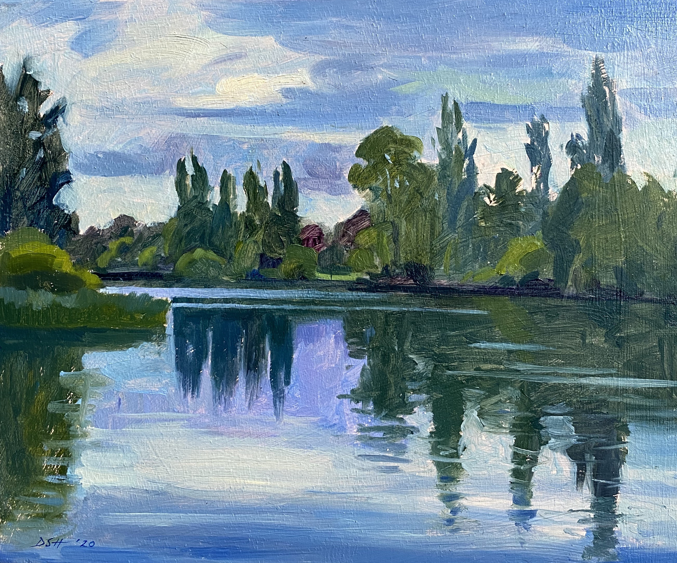 The Serpentine, Evening light