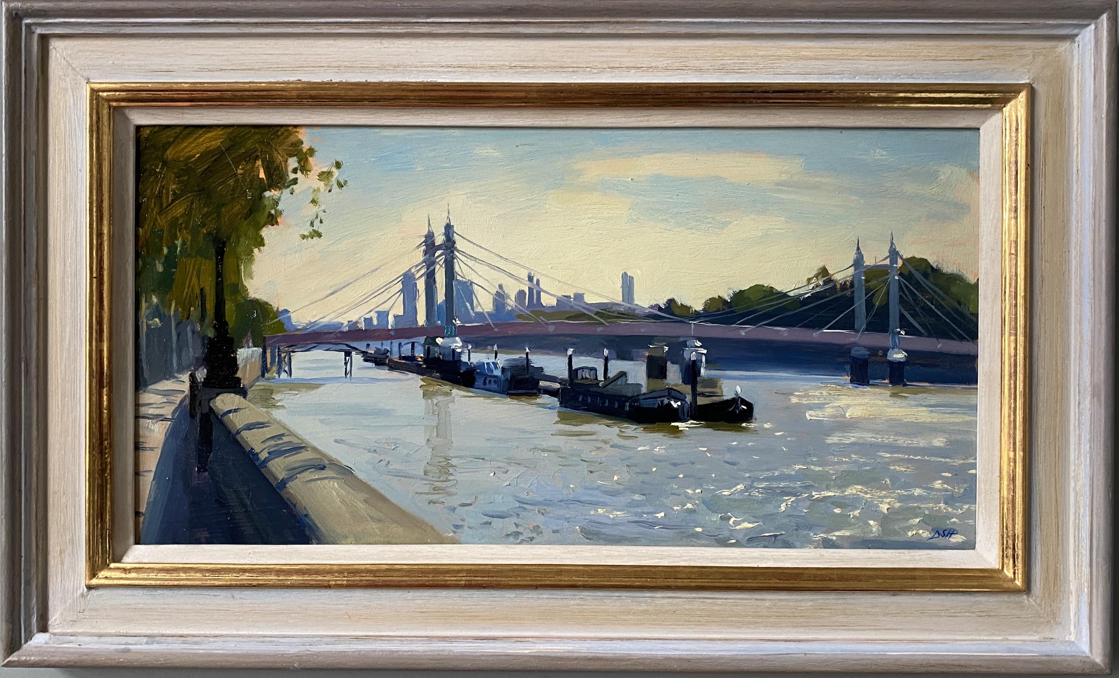 Summer morning by the Albert Bridge