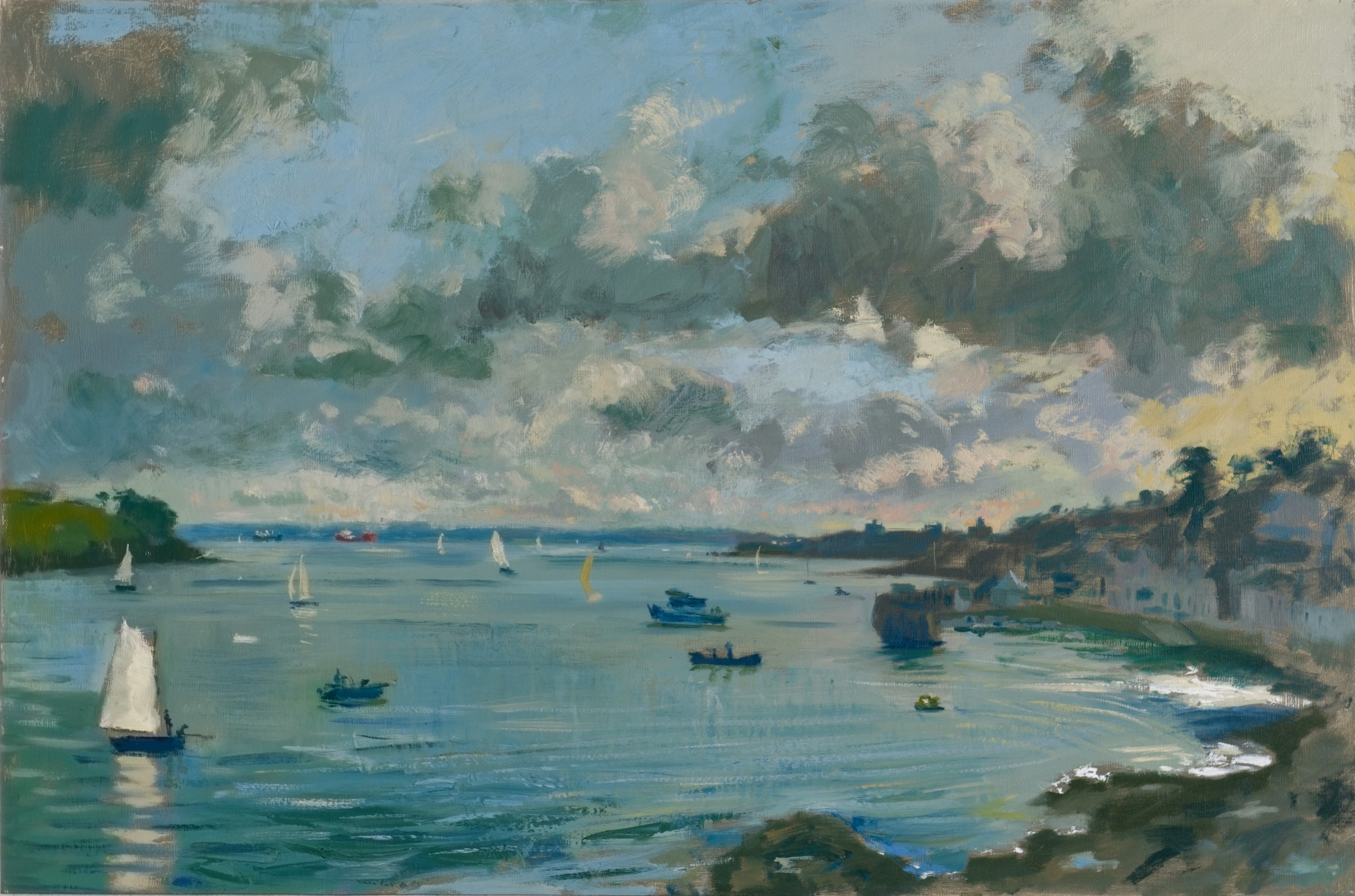 The White Sail, Evening Light St Mawes