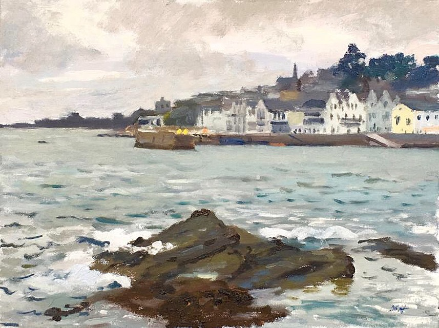 The St Mawes Harbour Wall