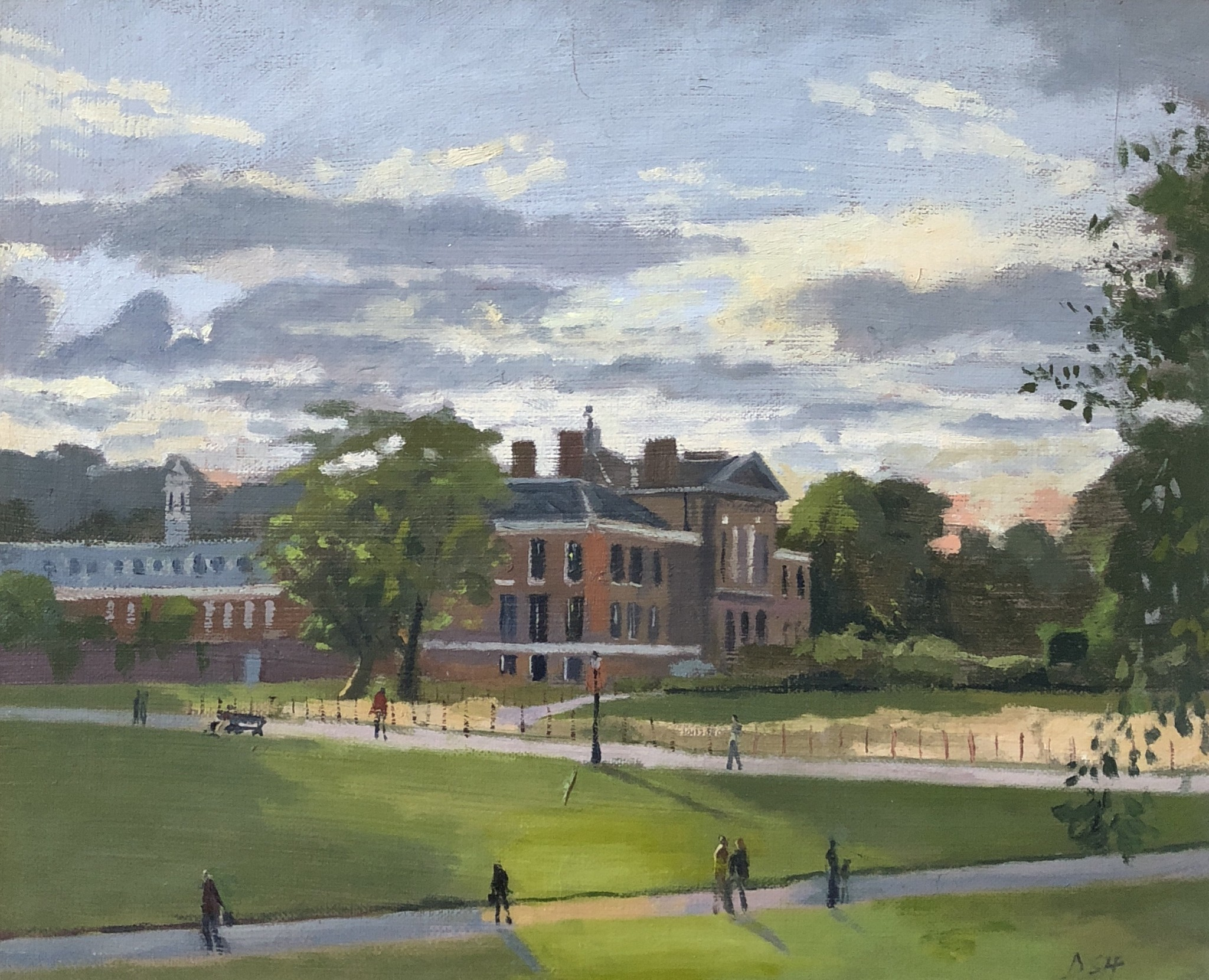 Evening light, Kensington Palace