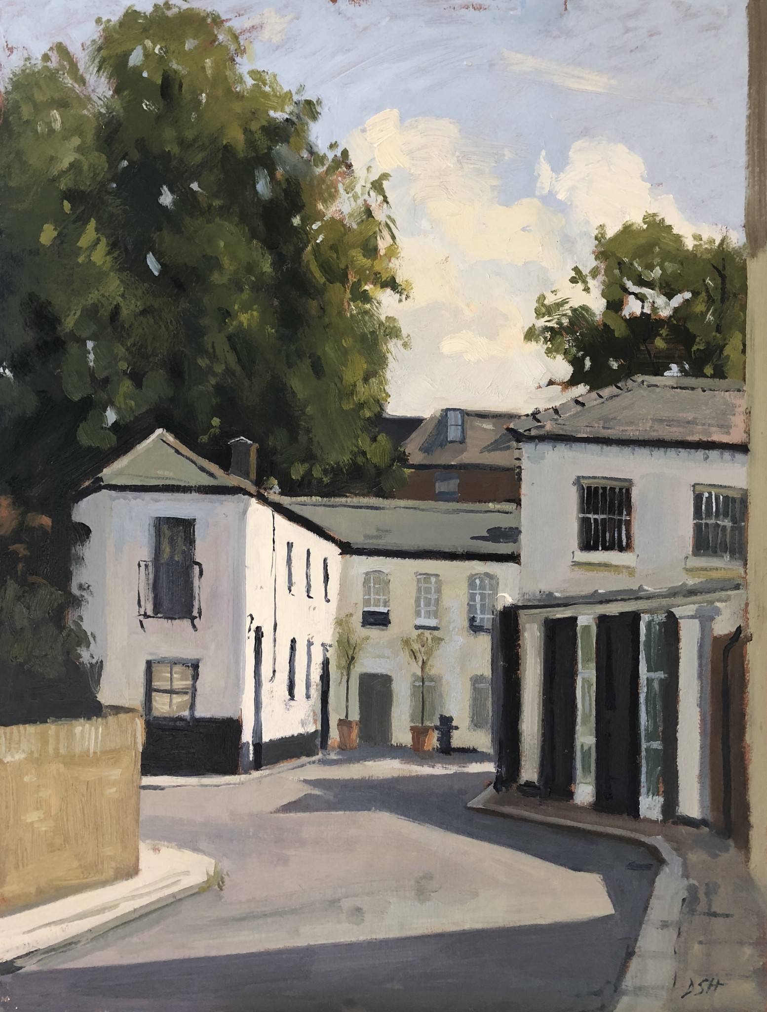 Afternoon Light, Codrington Mews