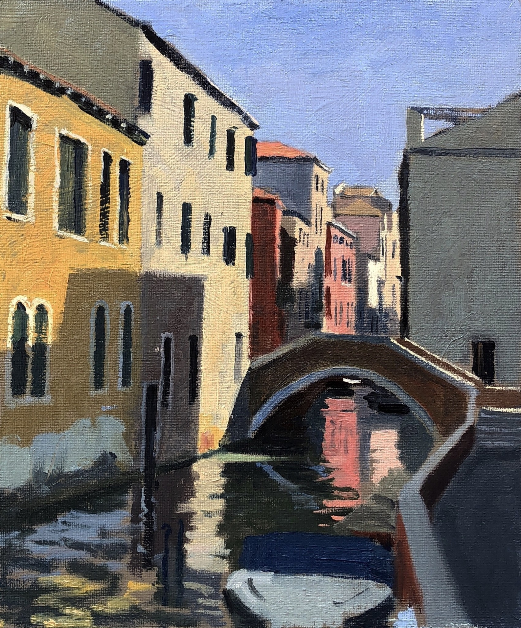 Midday Sun, Side Canal on the Dorsoduro