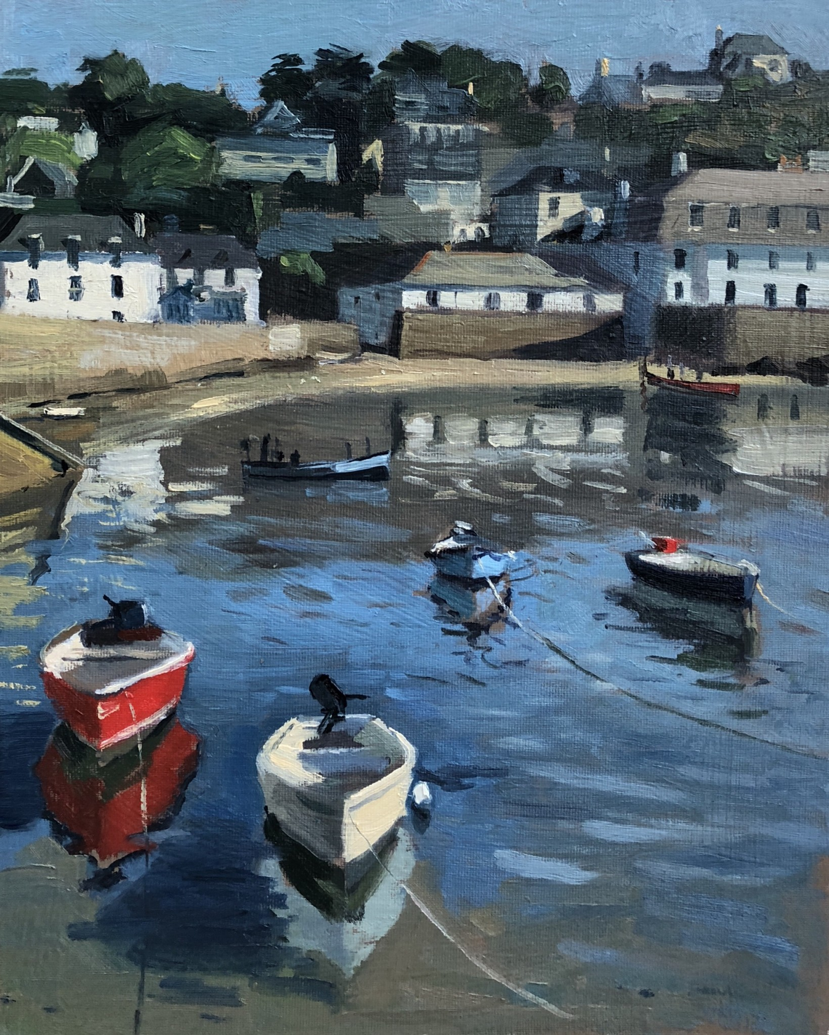 Early Light by the Idle Rocks, St Mawes Harbour