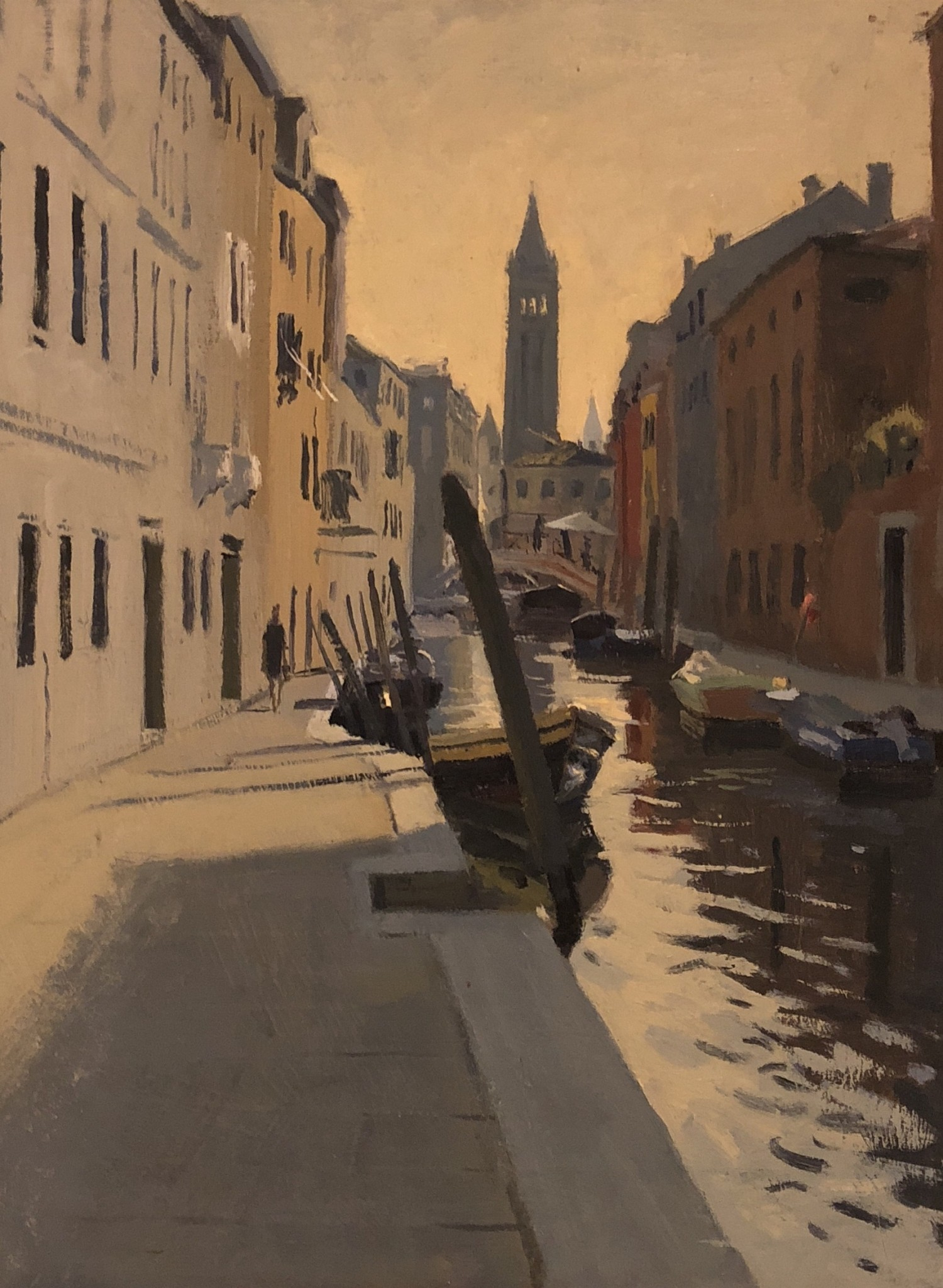 Early Morning Light near Campo San Barnaba