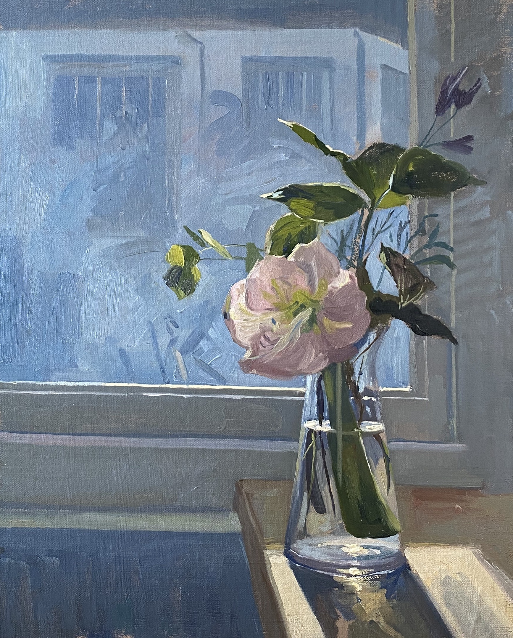 Flowers on the Studio Windowsill