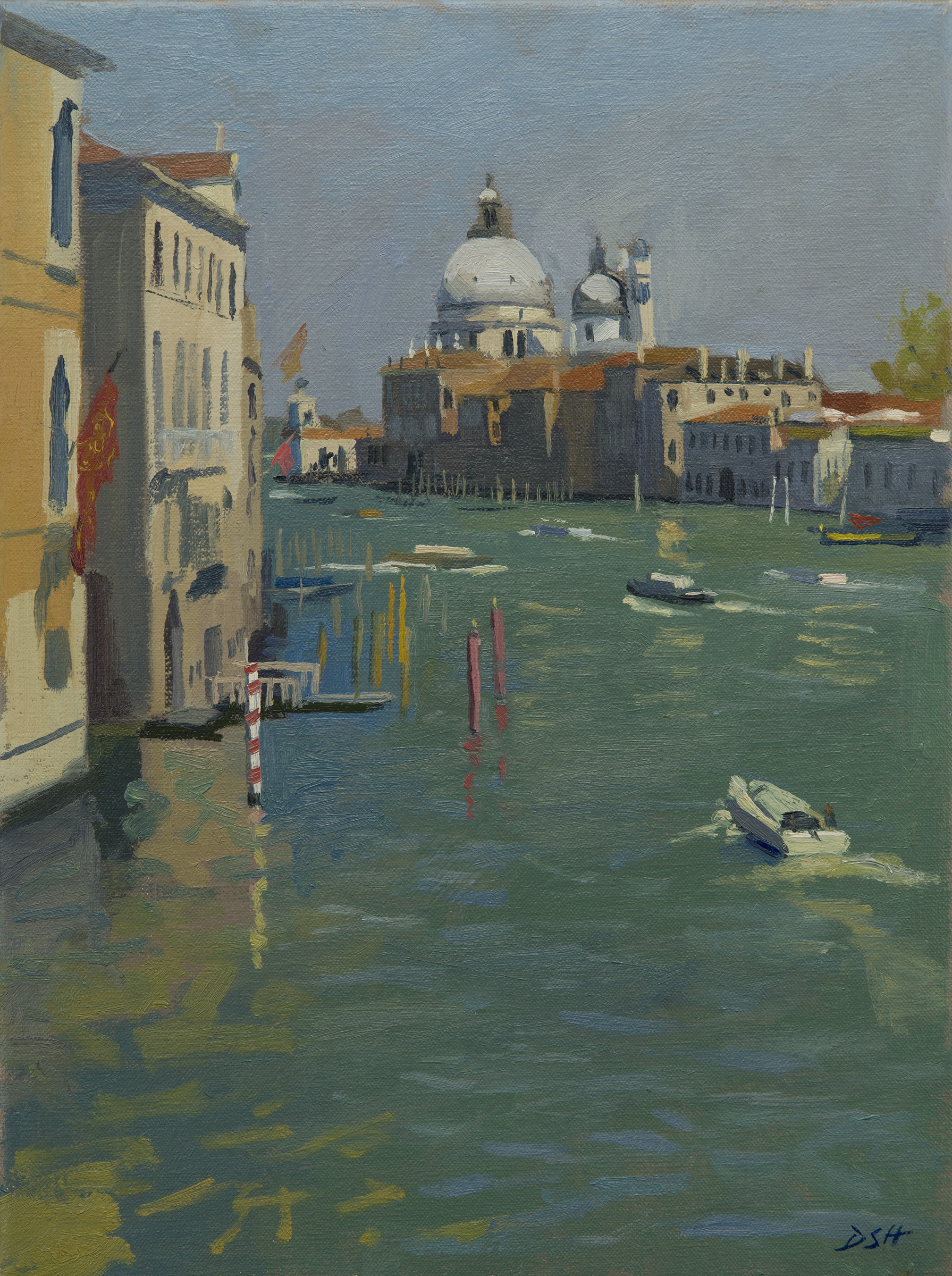 View of the Salute from the Accademia Bridge