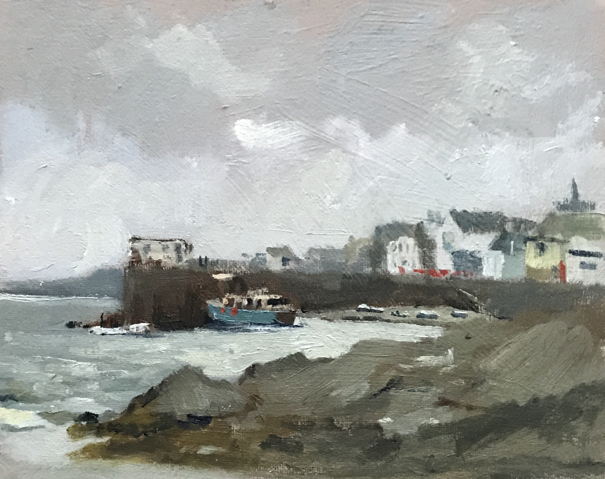 Misty afternoon, St Mawes Harbour