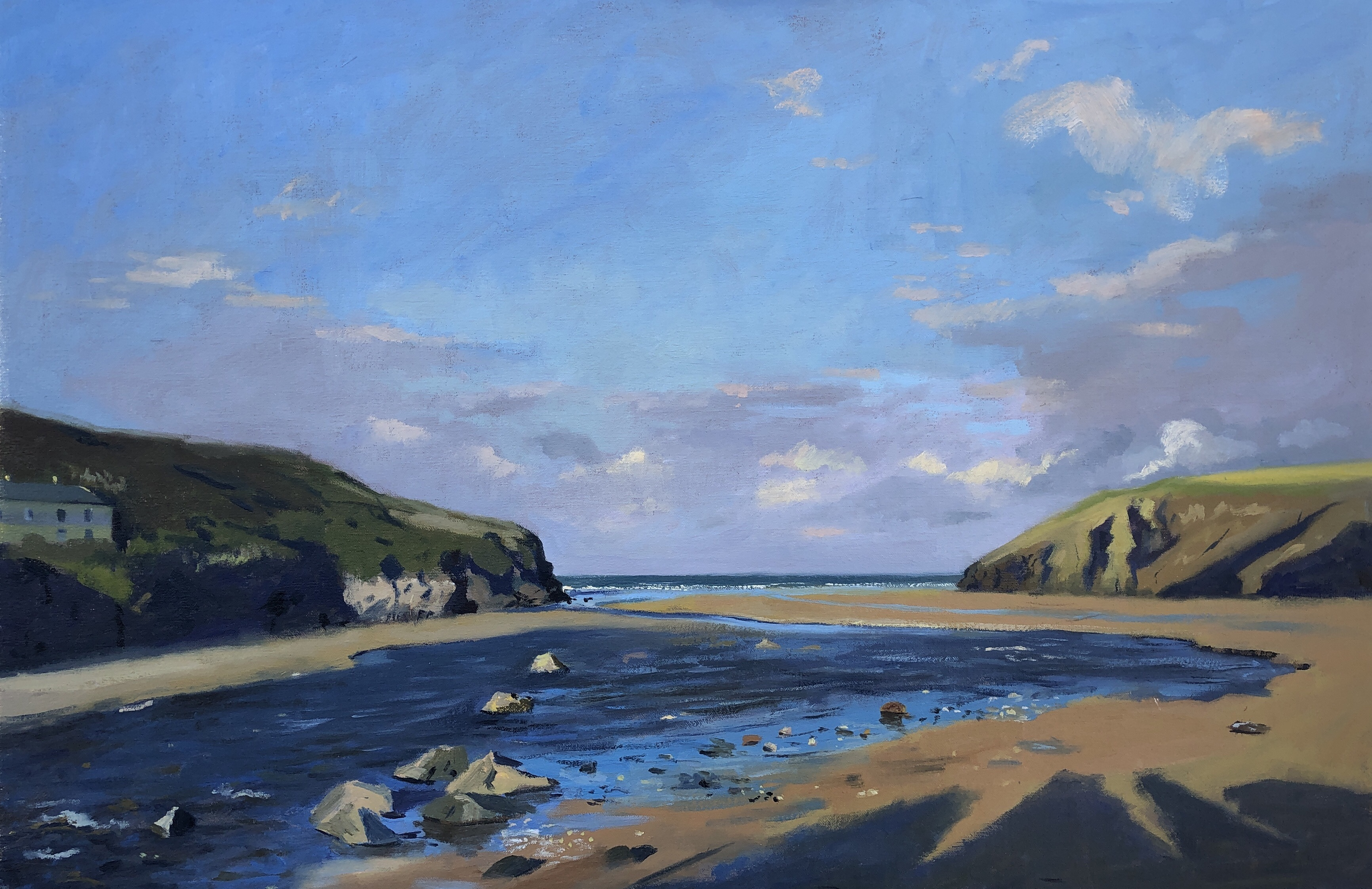 Morning Light, Mawgan Porth