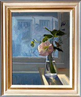 Flowers on the Studio Windowsill