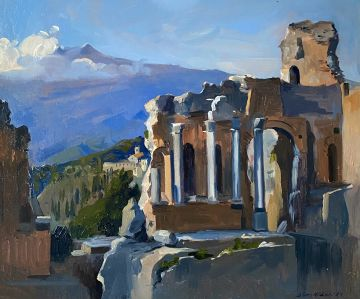 The Greek Amphitheater, Taormina