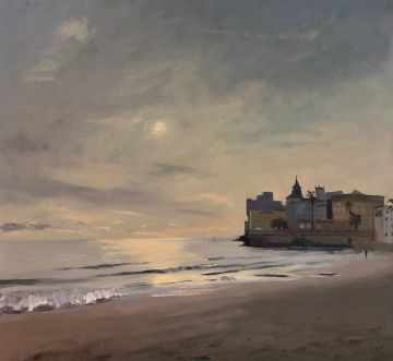 November Afternoon Contre-Jour, Sitges