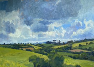 Storm Clouds Over the Roseland