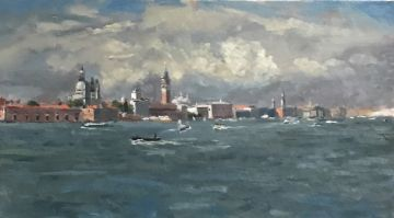 Storm clouds over the Doges Palace