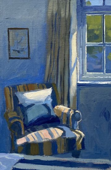 Early Light on Bedroom Chair