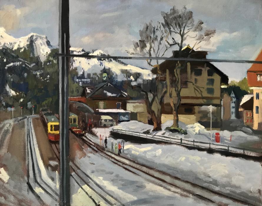 Wengen Mountain Train