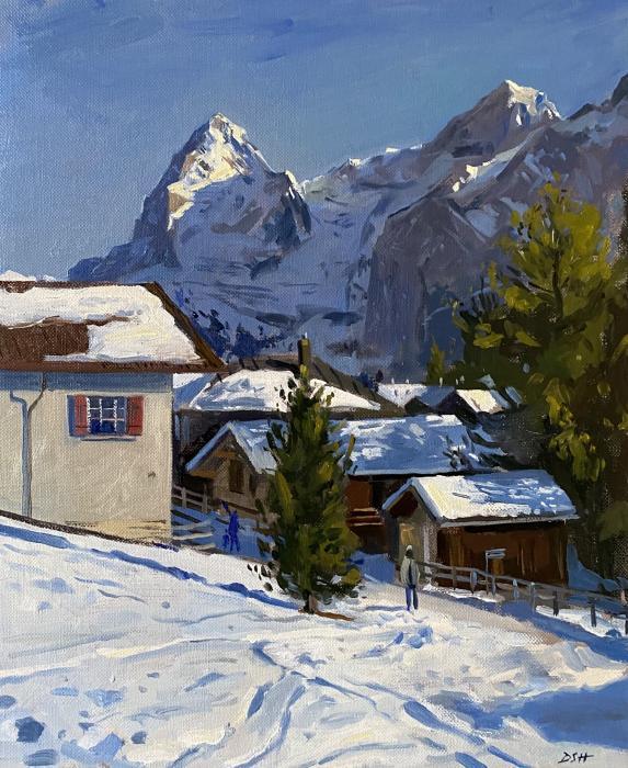 Murren Village, The Eiger Beyond
